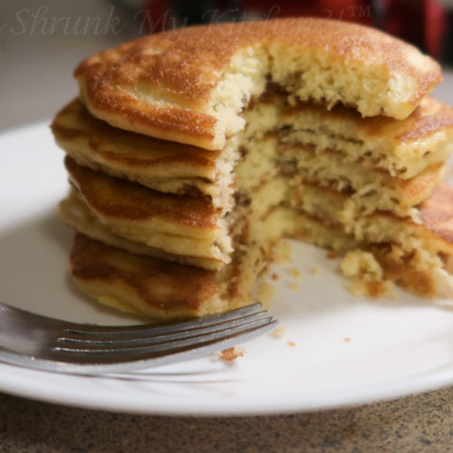 fluffy low carb keto coconut flour pancakes