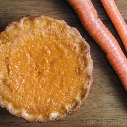 Sweet Carrot Pie Recipe