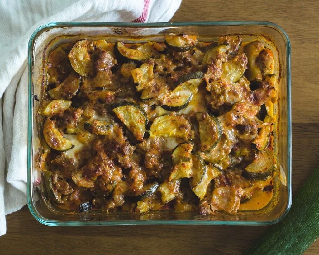 zucchini lasagna keto low carb casserole