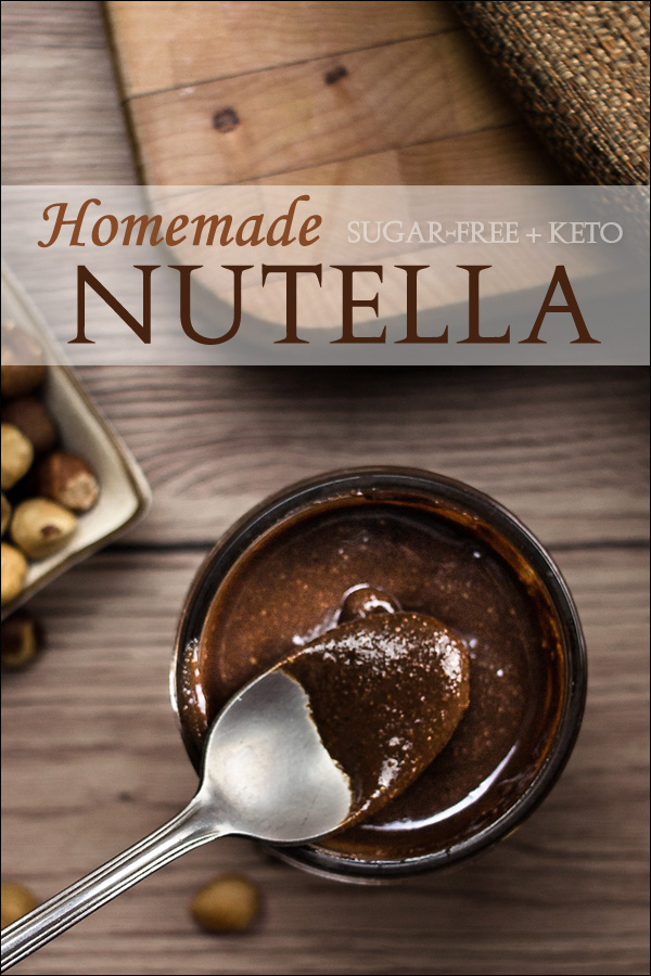 Homemade Nutella Chocolate Hazelnut Recipe