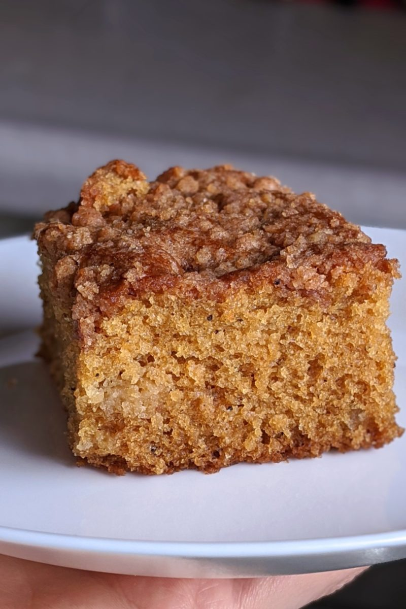 Slice of LAUSD Coffee cake